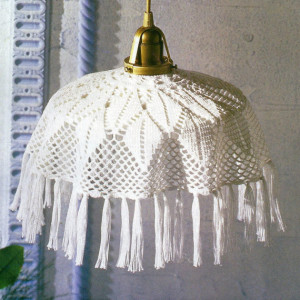Crocheted Lamp Shades